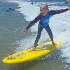 SurferYellowBoard