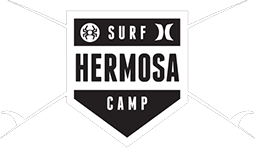 hermosa surf camp logo